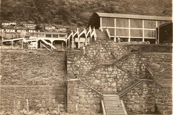 Viaduto e as Escadarias